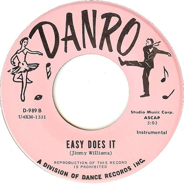 Vintage 45 record 'Easy Does It'