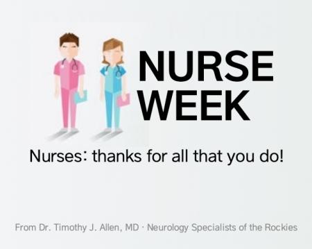 Happy Nurse's Week #NurseWeek
