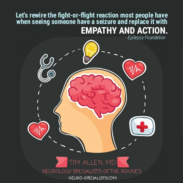 Empathy & action for those having seizures